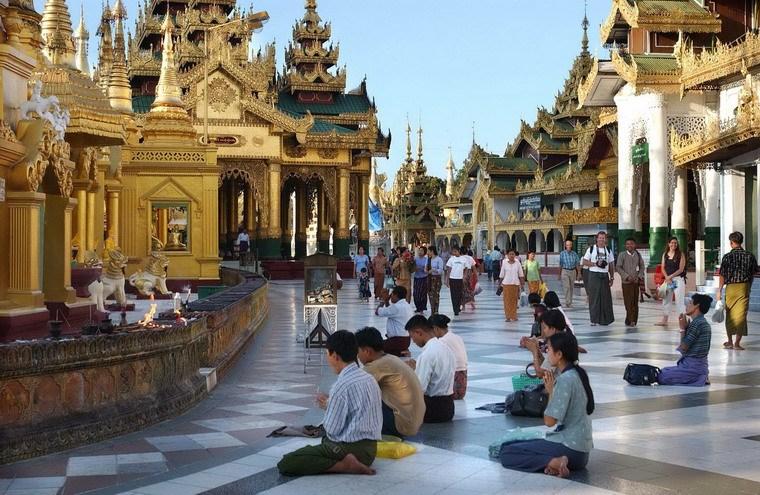 Chùa Vàng Shwedagon ở Yangoon -11