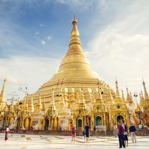 Chùa Vàng Shwedagon ở Yangoon -15