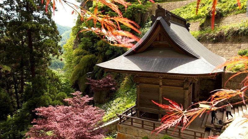 Đền Yamadera Risshakuji