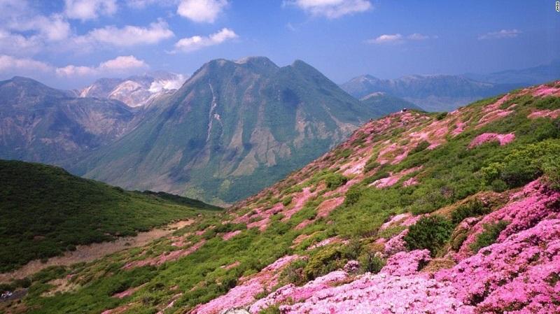 Dãy núi Kuju, tỉnh Oita