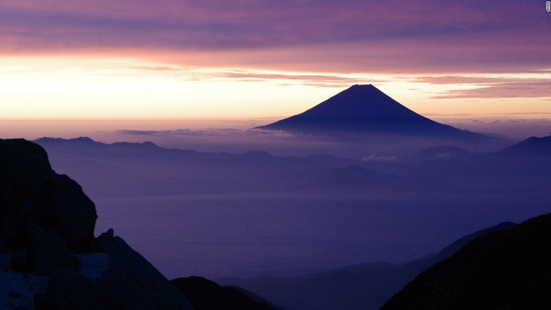 Phú Sĩ, tỉnh Shizuoka và Yamanashi