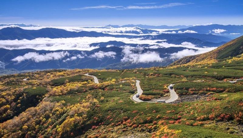 Norikura, tỉnh Gifu và Nagano