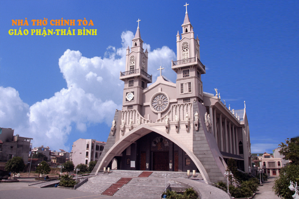 nhà thờ tòa chính Thái Bình