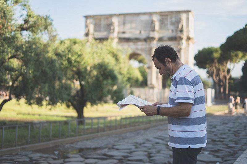 con đường ở roma