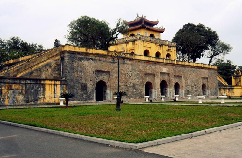 Hoàng thành Thăng Long nơi diễn ra Festival