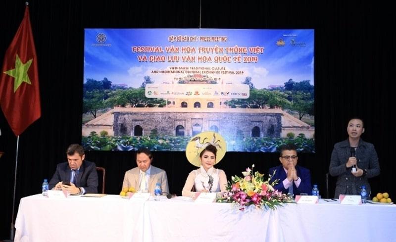 Họp báo công bố Festival văn hóa truyền thống Việt và Giao lưu văn hóa quốc tế 2019
