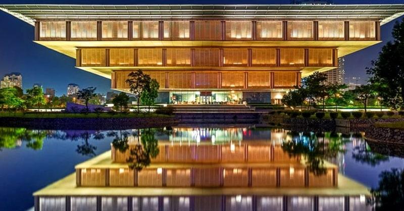 Bảo tàng Hà Nội nơi diễn ra Lễ hội hoa ban lần đầu tiên được tổ chức tại Hà Nội