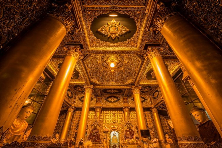 Chùa Vàng Shwedagon ở Yangoon -06