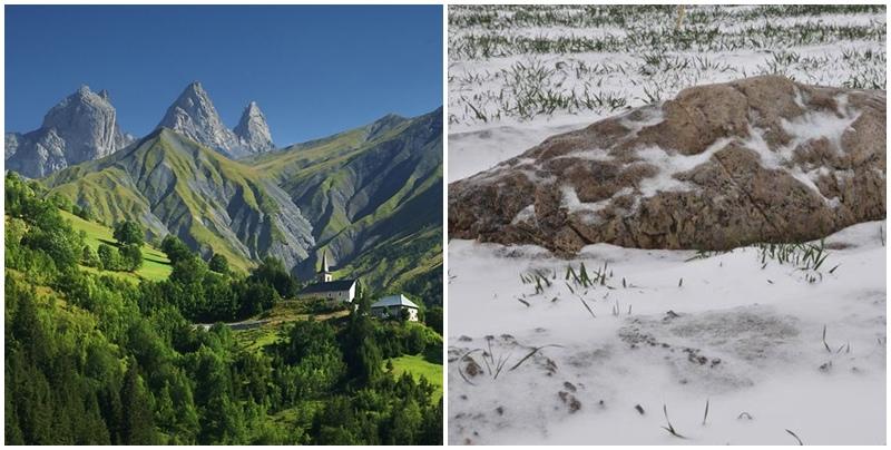So với những ngọn núi khác, núi Jing chỉ như một tảng đá