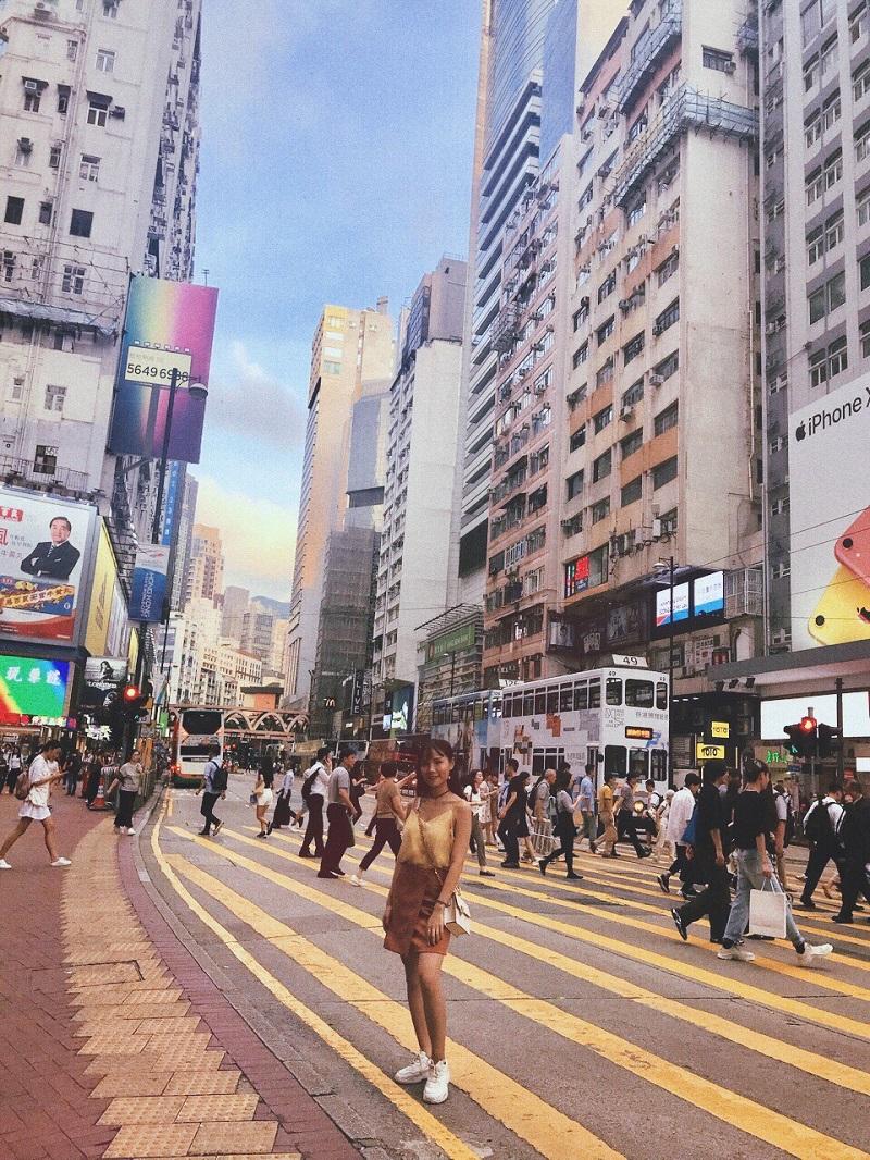 Phí làm Visa Hong Kong 95$