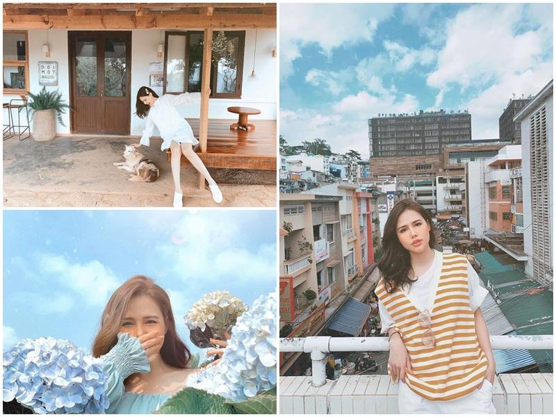 Nữ diễn viên Phương Anh vừa có một chuyến du lịch tại Đà Lạt