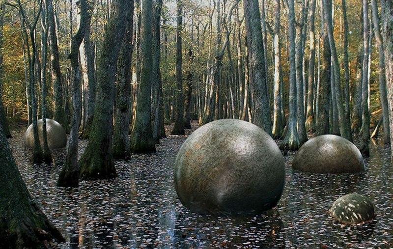 Có giả thuyết cho rằng những viên đá liên quan đến người ngoài hành tinh