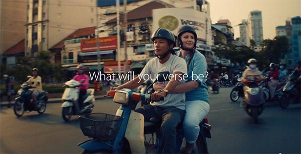 Việt Nam trên quảng cáo của Apple4