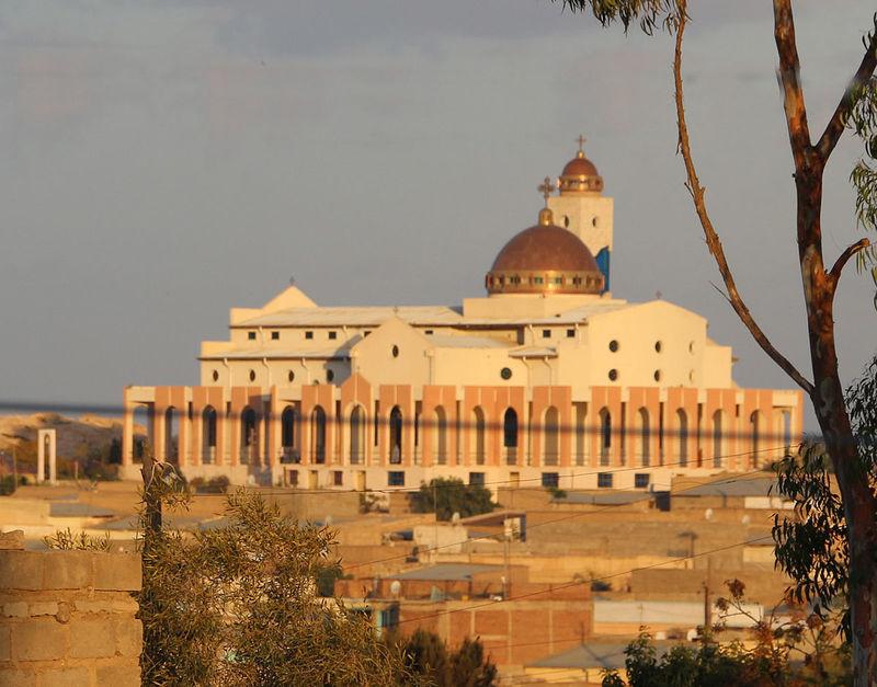 Một nhà thờ ở thì trấn Adi Keyh