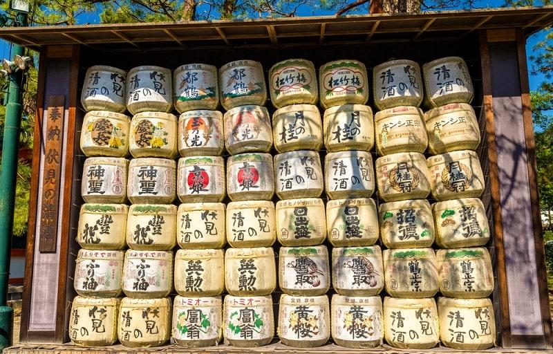 Ủ rượu sake Fushimi