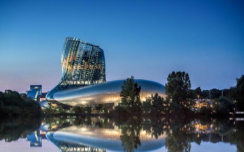 Cité du Vin - bảo tàng rượu vang Pháp
