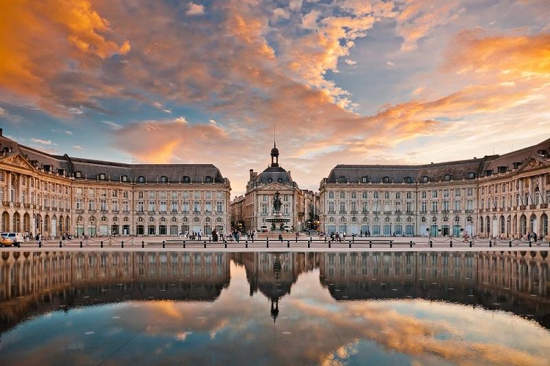 Thành phố Bordeaux nổi tiếng