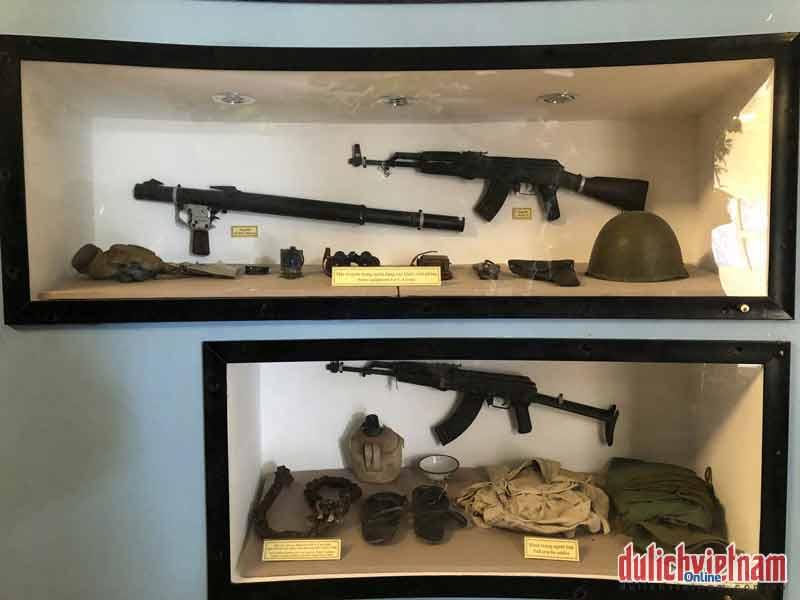 Một số trang bị của quân giải phóng miền Nam