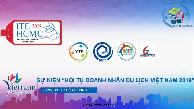 Sắc màu hội tụ doanh nhân du lịch Việt Nam 2019