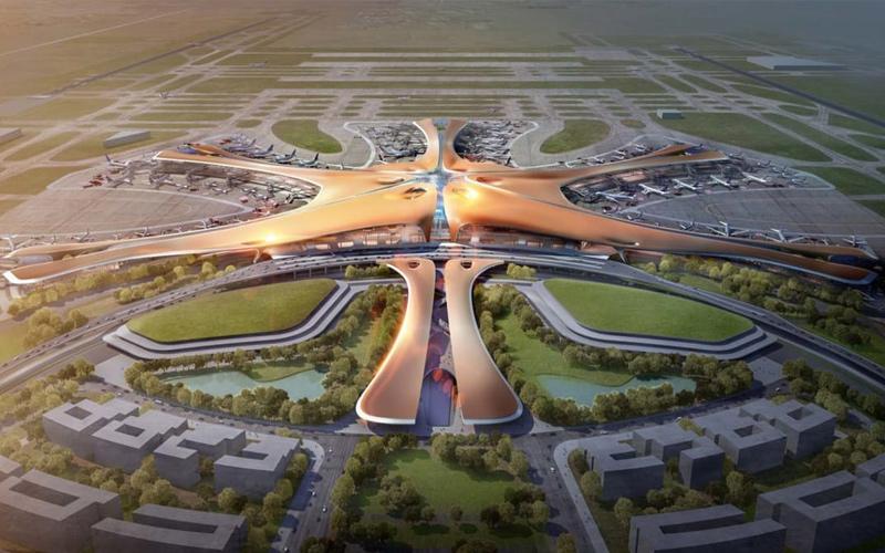 Kỳ vĩ sân bay 12 tỷ USD của Trung Quốc
