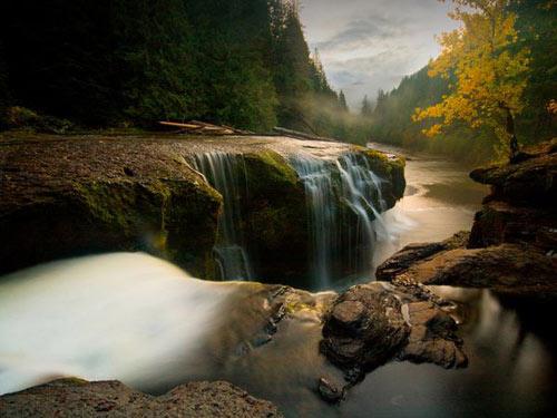 Kết quả hình ảnh cho sông Lower Lewis ở Rừng quốc gia Gifford Pinchot