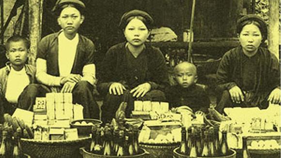 tai hien cho que Tái hiện chợ quê tại Bảo tàng Phụ nữ Việt Nam