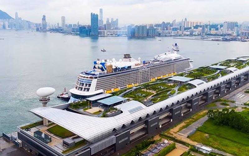 Tàu Spectrum of the Seas - Hãng Royal Caribbean chở khách đến Việt Nam