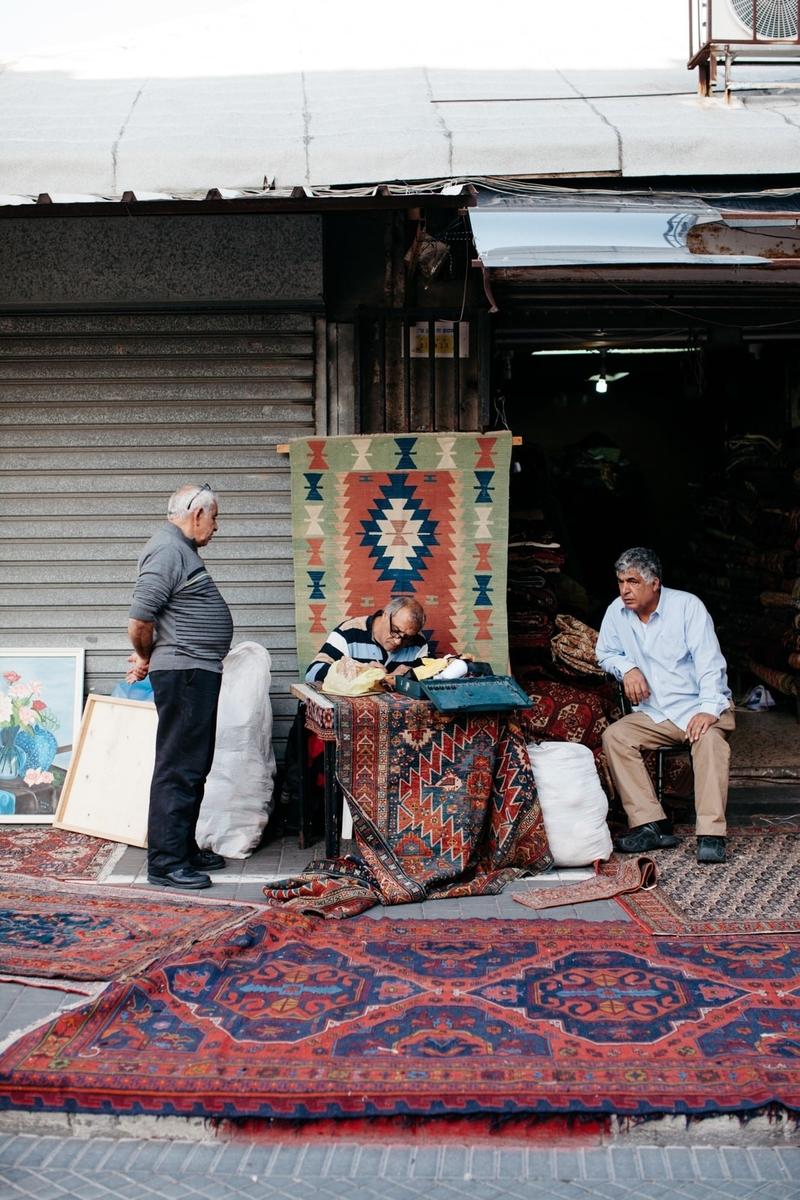 """Cái mới không bao giờ là """"xa vời"""" trong thành phố cổ Jaffa."""