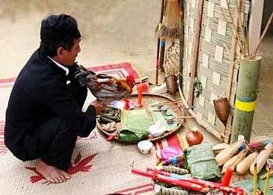 Tết cơm mới của dân tộc Cống Điện Biên