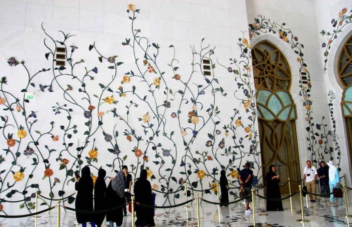 Sảnh đường Nhà thờ hồi giáo Sheikh Zayed