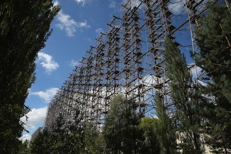 """Hệ thống radar """"Duga"""" được xây dựng từ thời Liên Xô"""