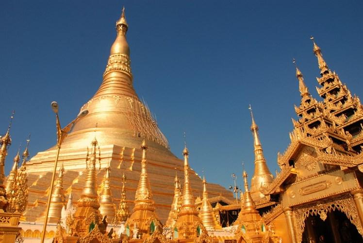 Chùa Vàng Shwedagon ở Yangoon -04