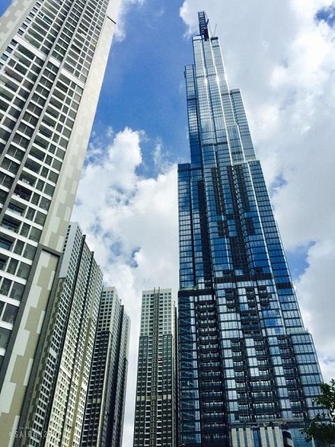 Độ khủng toà nhà sánh với các công trình đẳng cấp thế giới