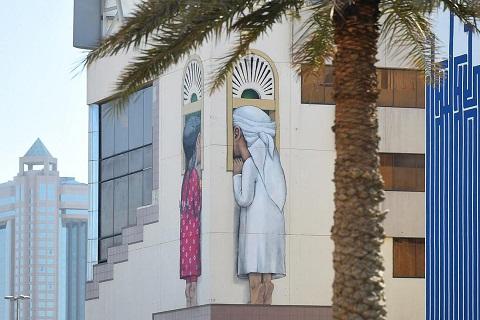 Những bức tranh khổng lồ tô điểm cho đường phố