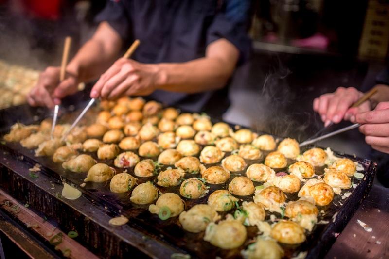 Bánh mực Takoyaki
