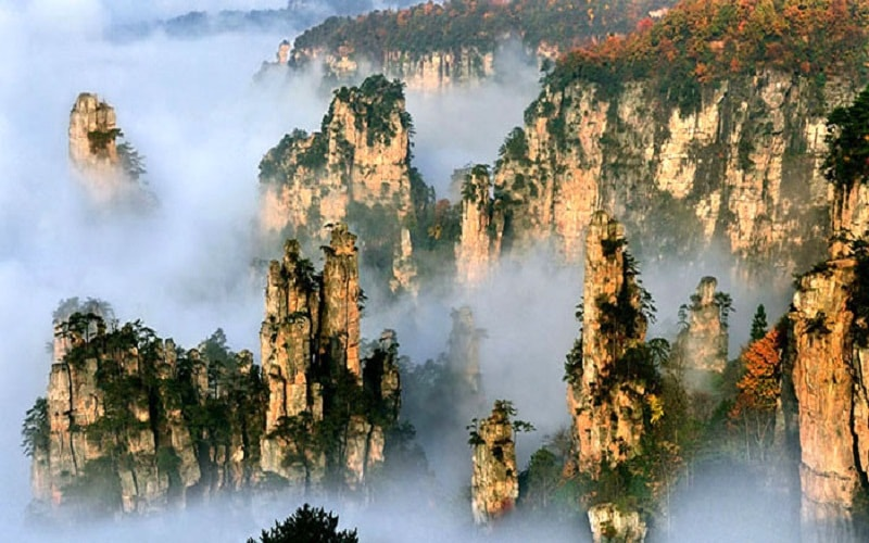 Vườn quốc gia Trương Gia Giới, Trung Quốc