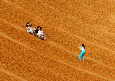 Trượt cát trên đồi Mũi Né