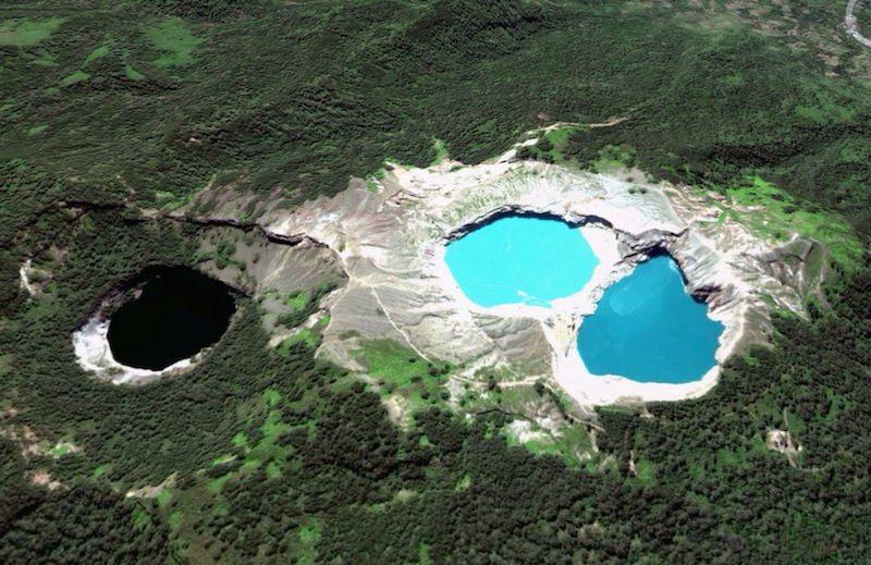tuyệt tác thiên nhiên từ miệng núi lửa ngưng hoạt động