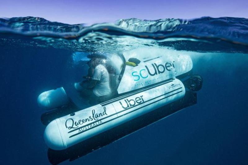 Australia hợp tác với Uber tổ chức hoạt động du lịch bằng tàu ngầm