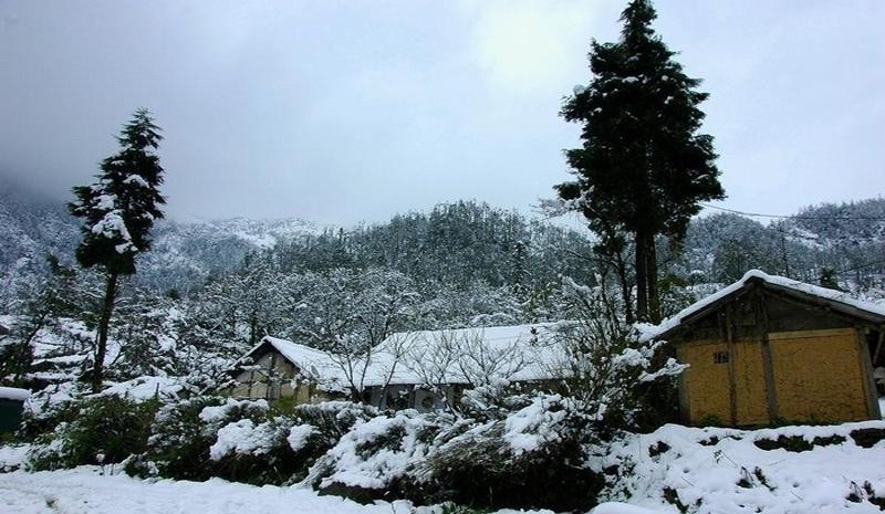 Vùng đất khắc nghiệt vào mùa đông