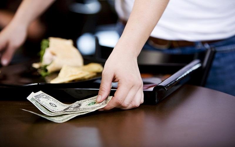 Tiền tip ở Mỹ được coi là luật bất thành văn