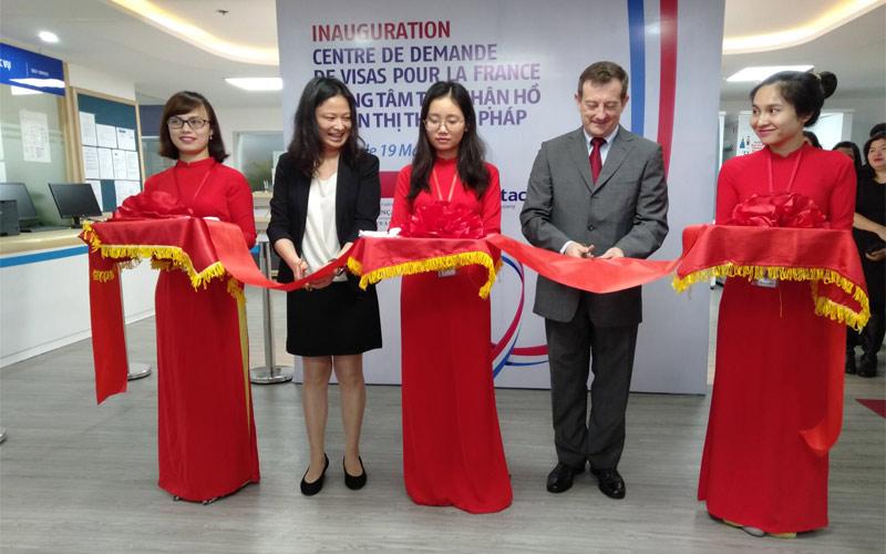 văn phòng cấp visa Pháp tại Việt Nam