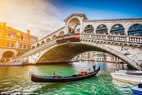 Venice - một trong những thành phố lãng mạn nhất châu Âu
