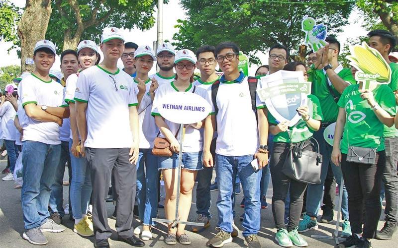 Vietnam Airlines chống rác thải nhựa