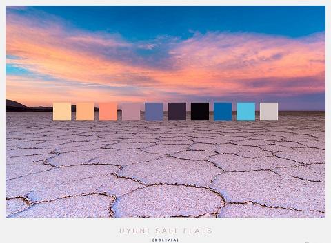 Cánh đồng muối Uyuni ở Bolivia