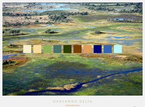 Đồng bằng châu thổ sông Okavango, Botswana