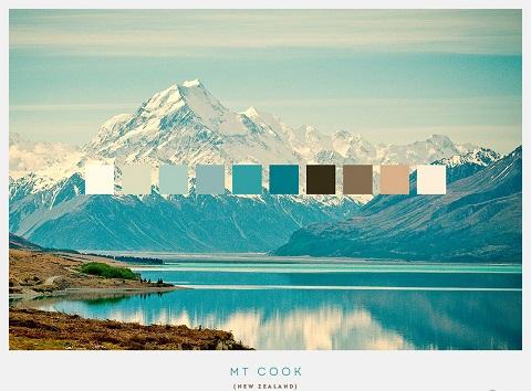 Núi Cook cao 3.724m - ngọn núi cao nhất New Zealand