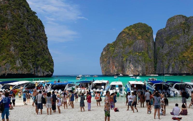 Vịnh biển Maya - Thái Lan tiếp tục đóng cửa trong 2 năm
