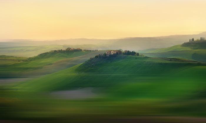Khung cảnh thần tiên ở Tuscany