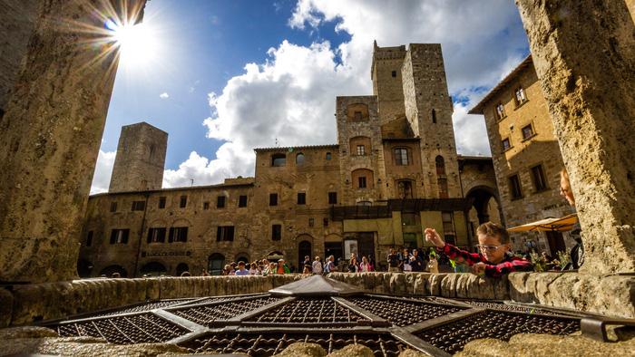 Thị trấn San Gimignano